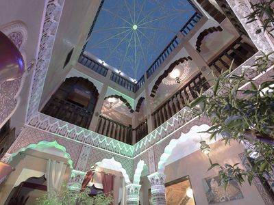 Photo for Magnificent traditional Riad in one of the most beautiful area of the Medina
