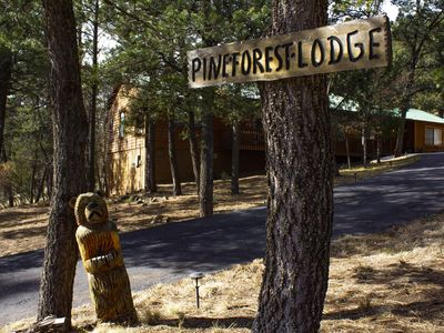 Photo for Pine Forest Lodge Cabin w/hot tub, gameroom with pool table AND 3 full baths
