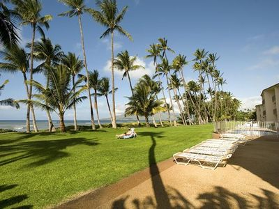 Photo for #207-One Bedroom Oceanfront Condo in Kihei - Walk to Everything!