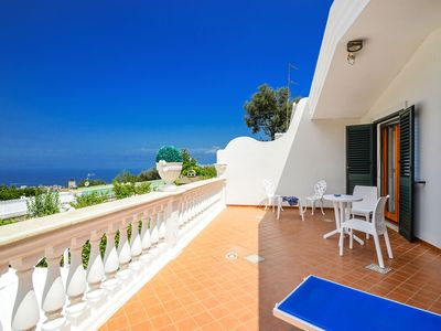 Photo for Villa Loto with Private Swimming Pool, Sea View, Parking and Air Conditioning