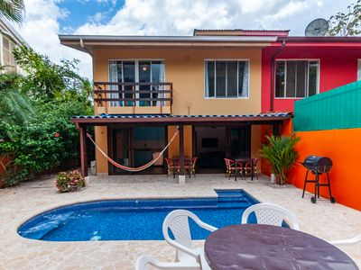 Photo for Cozy home with Private Pool and safe parking - walking distance to the beach