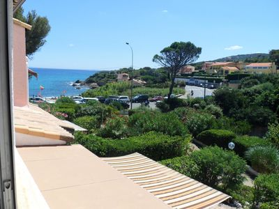 Photo for Nice apartment 50m from the beach in Saint Aygulf - 2 Room Apartment 3 people