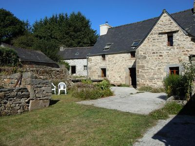 Photo for beautiful cottage in the heart of the mountains of arrée, in a village