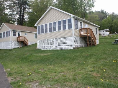 Photo for Newfound Lake Cottage with private beach, in Bristol NH