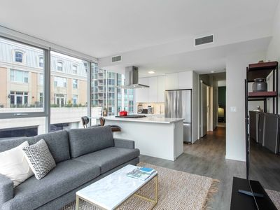 Photo for Hip River North 1BR w/ Pool + Roof Deck near Mag Mile, by Blueground
