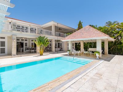 Photo for VILLA FAVORITA: MODERN VILLA IN TORTUGA BAY WITH GOLF COURSE VIEWS, MAID & POOL