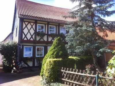Photo for Apartment in the historic half-timbered house on the beautiful Harz