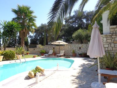 Photo for Private Villa With Swimming Pool, Terrace With  Sea View And Remarkable Garden.