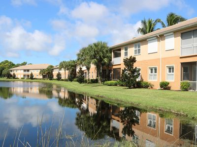 Photo for Spacious Coach Home with lake and Golf Course Views!  - 5 Mins to Beaches!