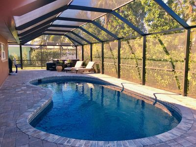 Photo for Fabulous 3/2 Private Home! Pool, Spa,Modern Kitchen,Outdoor Living ,Pets!