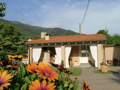 Photo for Comfortable house with pool surrounded by nature in Camaiore, Tuscany