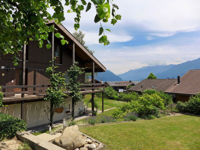 Photo for Vacation home Marbach in Faulensee - 6 persons, 3 bedrooms