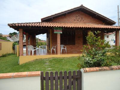 Photo for Excellent house 3 bedrooms, with en suite, 3 air cond split, 150 meters from the best beach