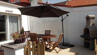 Photo for 4 * ground floor apartment, private terrace, free wifi, adapted for disabled people