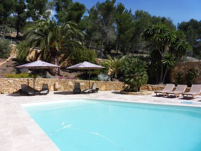 Photo for Typical Provencal on the heights of Bandol 10 minutes from the port and 5 minutes from golf