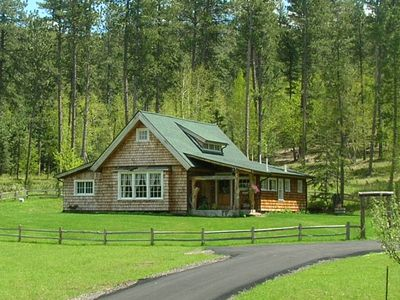 Photo for Black Hills  - Little Elk Cottage Scenic Vanocker Canyon!