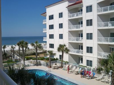Clean Beautiful 3rd floor Unit! On the Beach with an Outstanding View! Book NOW!