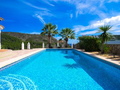 Photo for Vacation home Manana in Moraira - 10 persons, 5 bedrooms