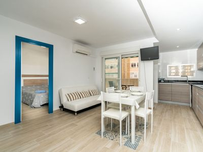 Photo for Apartment Urbatenis in Jávea/Xàbia - 2 persons, 1 bedrooms