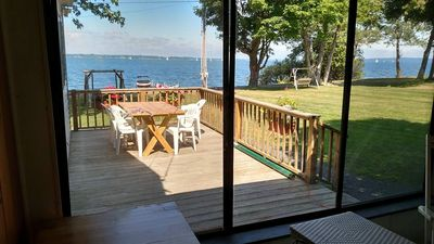 Photo for Lovely lake shore cottage on North Hero Vt in the Champlain Islands