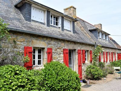 Photo for Breton house with WIFI and large garden in LANDRELLEC