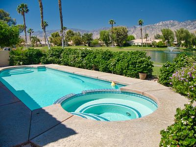 Photo for Trancas W63 - Private Pool, & Hot Tub, Mountain Views, Golf Course!