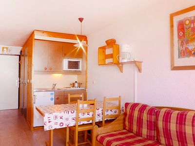 Photo for One bedroom Apartment, sleeps 5 in Val Thorens with WiFi