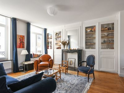 Photo for Luxurious familial flat in central Lille, close to Solferino - Welkeys