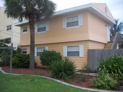 Front of the Cocoa Beach Cottage