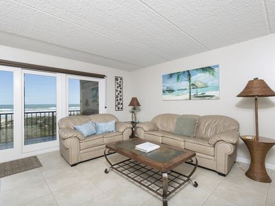 Photo for Luxurious, large condo in a quiet complex on the beach!