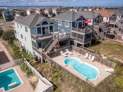 Photo for Sweet Isabel | Oceanfront | Private Pool, Hot Tub | Nags Head