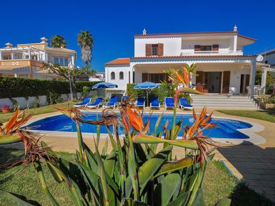 Photo for Villa with private pool, option of pool heated, near Oura beach, with