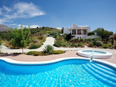 Photo for Luxury Villa With Fabulous Views, Private Pool, Peace and Quiet
