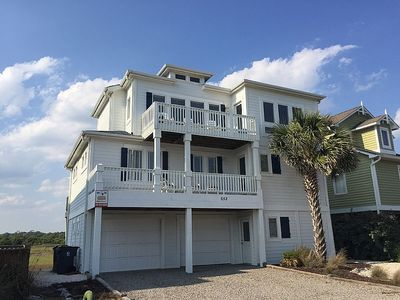 Photo for Beautiful Ocean and Marsh Views - 2 Car Garage for Guest Use!