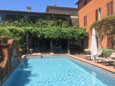 Photo for Exclusive Villa with stunning views. Private heated pool and beautiful gardens