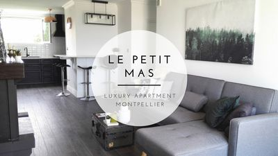 Photo for Le Petit Mas - Luxury Apartment - Spacious, AC, Parking, Balcony