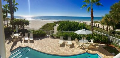 Photo for Seaside 102 AMAZING 3 Bedroom 2 Bathroom Gulf Front Unit FREE WIFI & Parking!