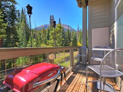 Photo for Lovely & affordable ski condo that backs up to National Forest. A5