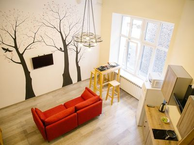 Photo for Apartments in eco-style near the Cathedral Square