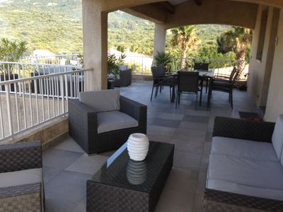 Photo for STANDING VILLA SEA VIEW WITH SWIMMING POOL 8 -11 PERSONS