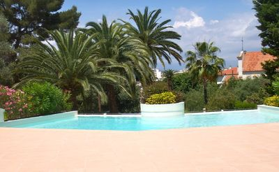 Photo for Beginning of Cap d'Antibes in Juan les Pins 2 rooms, swimming pool, garage, air conditioning, 4 pers
