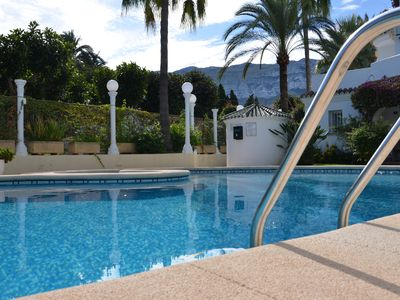 Photo for Apartment in residence in Dénia with swimming pool and 100m from the beach