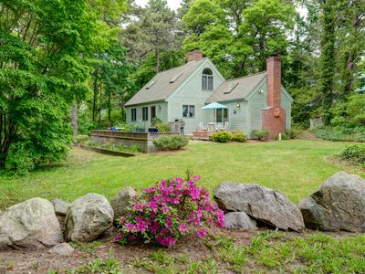 Photo for NEW LISTING! Tranquil home w/terrace & 2 kayaks-near Nauset Beach & downtown!