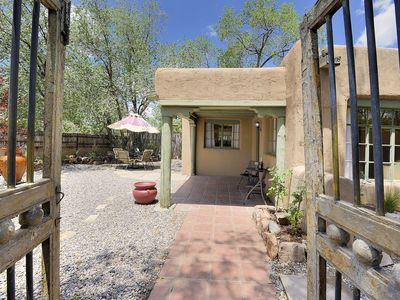 Photo for Cozy and Comfortable South Capitol Adobe Home - walk to everything Santa Fe