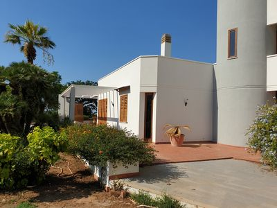 Photo for Large 400 sqm villa, 4 double bedrooms, 4 bathrooms, large garden