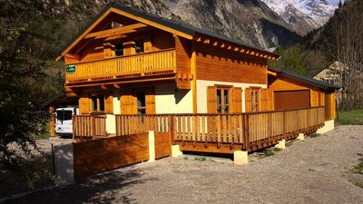 Photo for 6 room chalet for 10 people beautiful setting - Chalet 6 rooms for 10 people