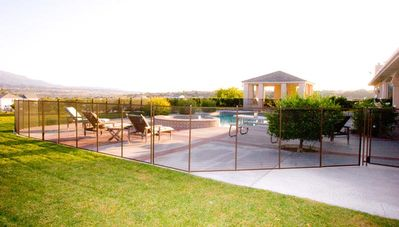 Private Pool and Spa with Cabana & BBQ