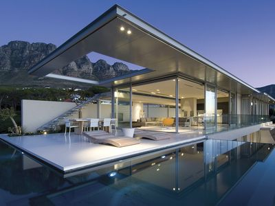 Photo for Contemporary 5-Star Villa Overlooking Camps Bay Beach