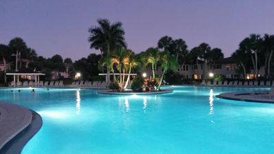 Photo for Beautiful 2 BR/2 BA, Huge Heated Pool, 3 Miles to Downtown 5th Ave & The Beach