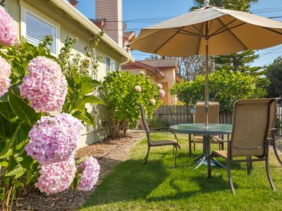 Photo for Two bedroom cottage just blocks from the beach in Pleasure Point, Santa Cruz!